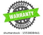 warranty grunge stamp with... | Shutterstock .eps vector #1553808461
