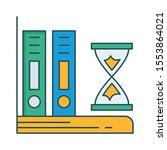 education   school line... | Shutterstock .eps vector #1553864021