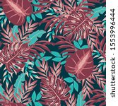 colorful seamless pattern with... | Shutterstock .eps vector #1553996444