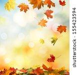 autumn background  | Shutterstock . vector #155423594