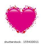 love design over white... | Shutterstock .eps vector #155433011