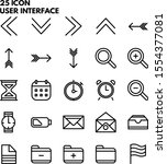 illustration of user interface...