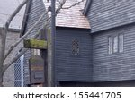 Witch House In Salem  Ma  Usa ...
