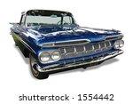 vintage classic chevrolet | Shutterstock . vector #1554442