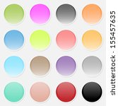 vector multicolored paper... | Shutterstock .eps vector #155457635