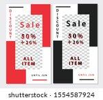 creative stories set. template... | Shutterstock .eps vector #1554587924