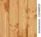 Realistic texture of pale wood - stock vector