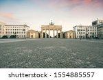 The Brandenburg Gate At Mornin...