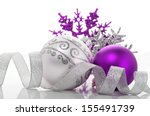 Purple And Silver Xmas...