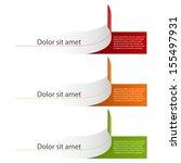 modern infographic. design...   Shutterstock .eps vector #155497931
