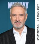 "Small photo of Westwood- NOV 05: Roland Emmerich arrives for the ""Midway"" Los Angeles Premiere. on November 05 2019 in Westwood, CA"