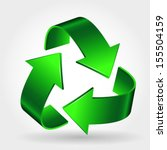 Recycle Symbol Icon  Green...