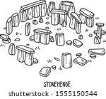 Stonehenge. Vector Illustration ...