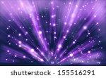 stars background of violet... | Shutterstock . vector #155516291