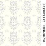 seamless victorian pattern.... | Shutterstock . vector #1555256684