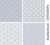 a set of four monochrome... | Shutterstock .eps vector #155530091
