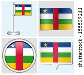 central african republic flag   ... | Shutterstock . vector #155539211