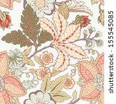 vintage flower pattern | Shutterstock .eps vector #155545085
