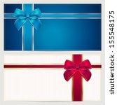 coupon  voucher  gift... | Shutterstock . vector #155548175