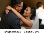 bride and grooms first dance  | Shutterstock . vector #155550191