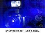 digital illustration of a... | Shutterstock . vector #15555082