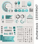 vector illustration with info... | Shutterstock .eps vector #155559047