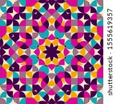 Kaleidoscope Seamless Pattern ...