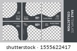 sale template collection for... | Shutterstock .eps vector #1555622417