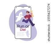 run or die social media post...