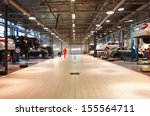 image of a repair garage | Shutterstock . vector #155564711