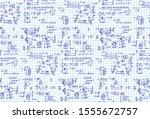 classic physics seamless... | Shutterstock .eps vector #1555672757