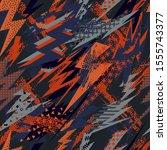 abstract seamless vector... | Shutterstock .eps vector #1555743377