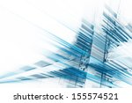 abstract business science or... | Shutterstock . vector #155574521