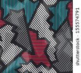 technology seamless pattern...   Shutterstock .eps vector #155574791