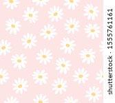 Daisy Flowers Seamless...