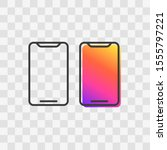 mobile phone icon. vector...