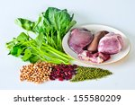 Variety Of Foods With Iron ...