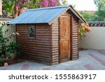 Garden Shed For The Tools And...