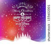 Christmas Greeting Card. Merry...