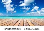 Stock photo  tropical sea under the blue sky 155602301