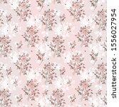 watercolor seamless pattern of... | Shutterstock . vector #1556027954