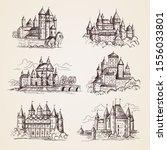Castles Medieval. Old Tower...