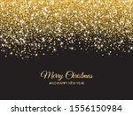merry christmas and new year... | Shutterstock .eps vector #1556150984