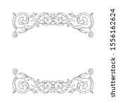 decorative elegant royal... | Shutterstock .eps vector #1556162624