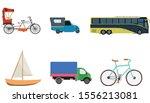 transportation vector flat... | Shutterstock .eps vector #1556213081