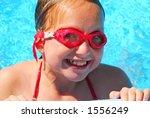 portrait of a smiling girl in... | Shutterstock . vector #1556249