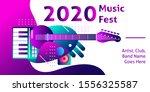 event background banner design... | Shutterstock .eps vector #1556325587