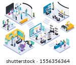 modern technical electronic... | Shutterstock .eps vector #1556356364