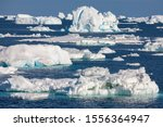 Sea Ice In The Weddell Sea Off...