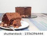 Sacher Cake  Home Made. Typical ...